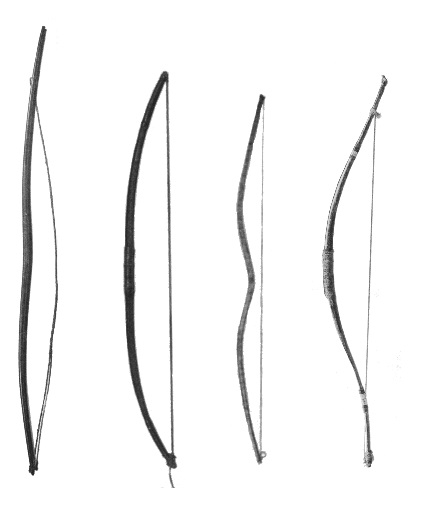 Examples of North American bows