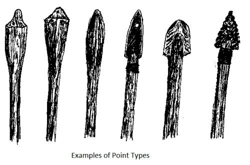 Examples of point types